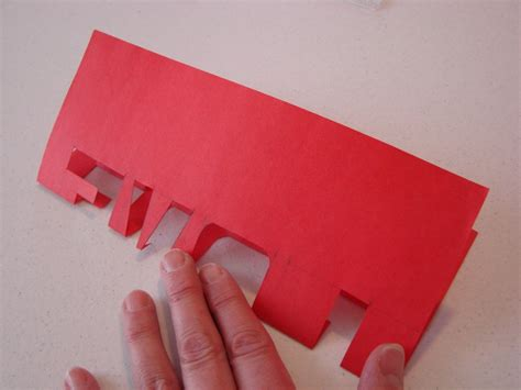 how to make a card for your crush pop up word card craft crossing