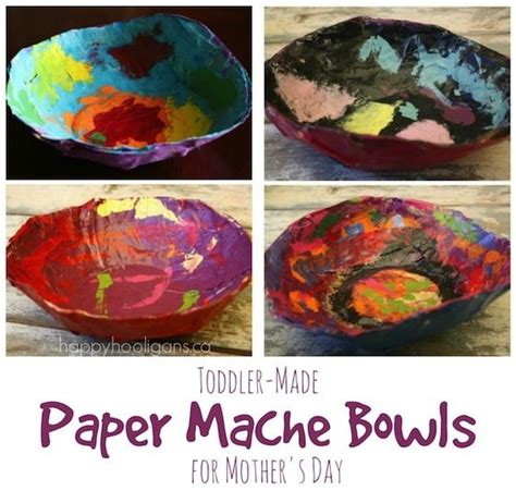 Paper Mache Bowls A Gift For To Make And Give