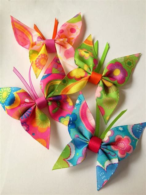 ribbon craft projects 25 best ideas about ribbon crafts on easy