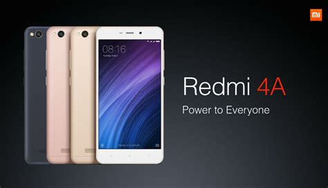 xiaomi redmi 4a xiaomi redmi 4a launched exclusively on india at rs