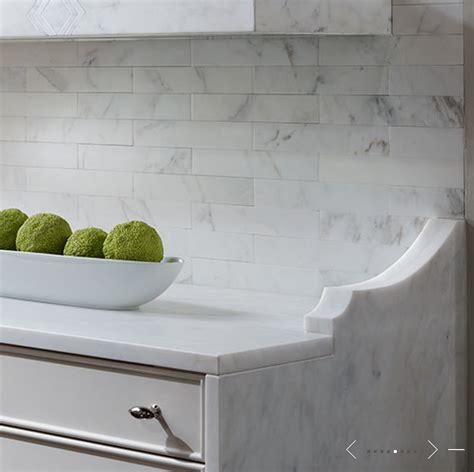 marble backsplash kitchen marble subway tiled backsplash transitional kitchen