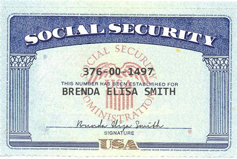 how to make a ssn card create novelty social security card fiverr