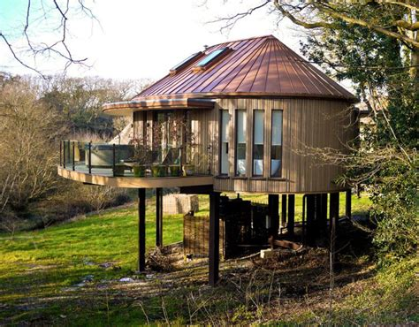 best treehouses floor to ceiling glass at the chewton glen treehouses in