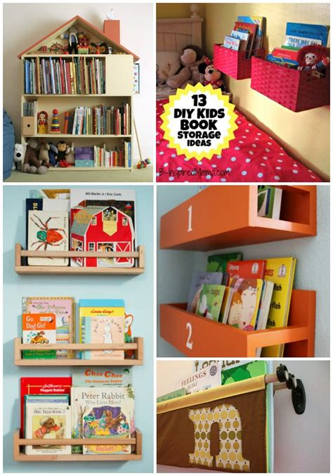 picture books for idea a diy wall book display with baskets 12 more kid s book
