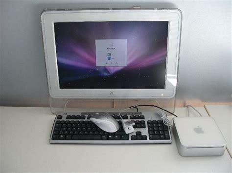 ordinateur de bureau comprenant unit 233 centrale apple mar mini 233 cran interencheres