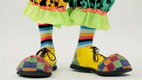 clown shoes walking around by dancristianp videohive
