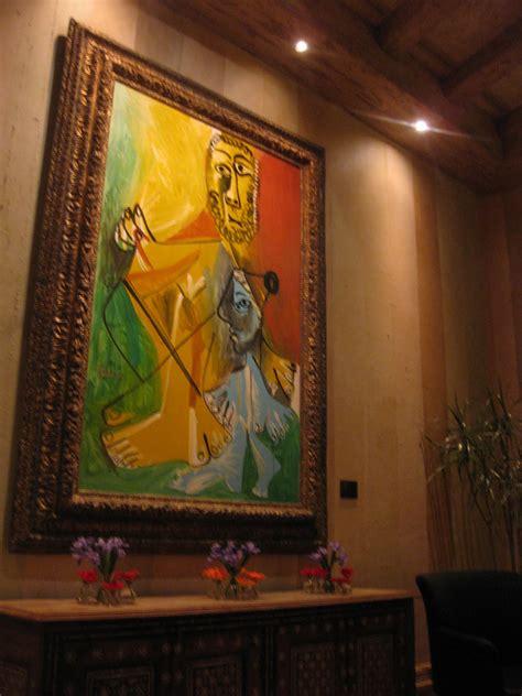 picasso paintings bellagio midwestern masticatory musings picasso las vegas nv