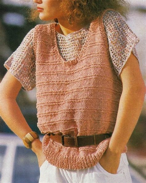 knitted cotton top patterns 11 best images about summer clothes mixed patterns
