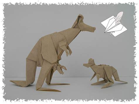origami kangaroo easy easy origami kangaroo comot
