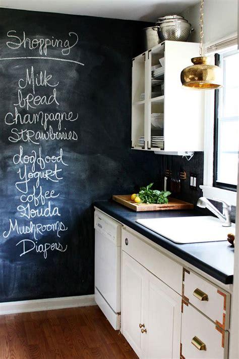chalk paint ideas kitchen chalkboard wall ideas a named pj
