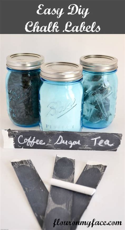 chalkboard jars diy easy diy chalkboard labels jars jars and pulled pork