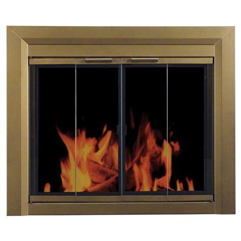 fireplace glass pleasant hearth medium glass fireplace doors ct