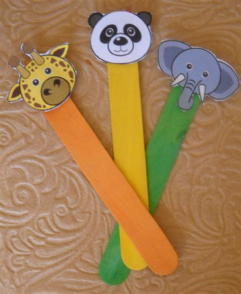 puppet crafts for best photos of animal puppets crafts animal stick