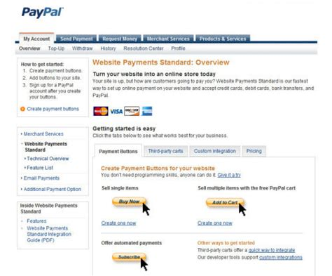 how to make a website that accepts credit cards 10 most asked questions about paypal hongkiat