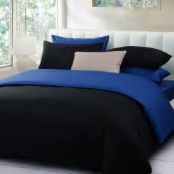 bed blue black and blue bedding bedroom ideas pictures