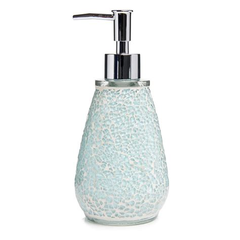 ebay bathroom accessories aqua sparkle mosaic bathroom accessories set ebay
