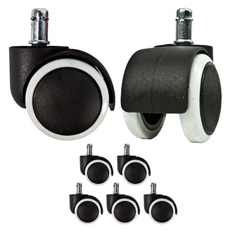 Desk Chair Wheels Replacement by 5 Rubber Replacement Swivel Wheel Office Chair Casters