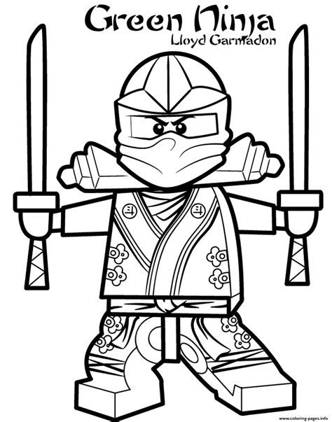 pictures to coloring book green ninjago s2dd5 coloring pages printable