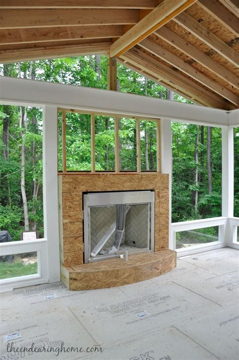 covered back porch ideas turning our back porch dreaming into a reality part 1