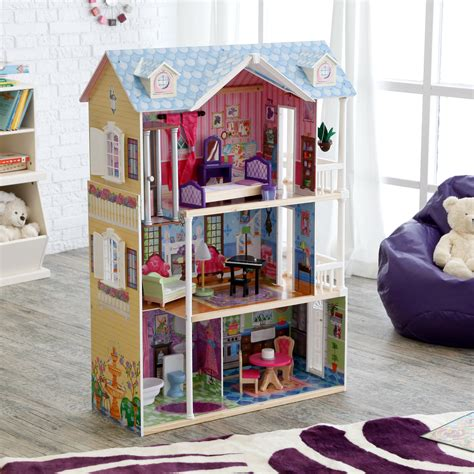 kid craft doll house kidkraft my dreamy dollhouse with lights and sounds