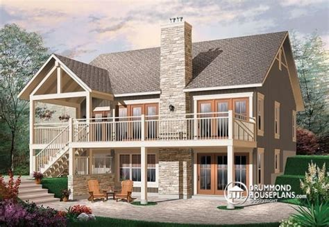 house plans with walk out basements luxury small home plans with walkout basement new home plans design