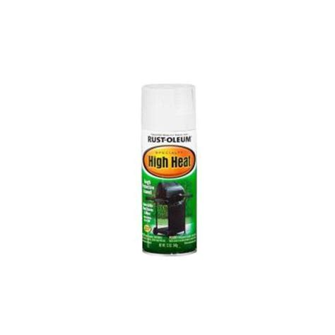 home depot high heat paint rust oleum specialty 12 oz white high heat spray paint