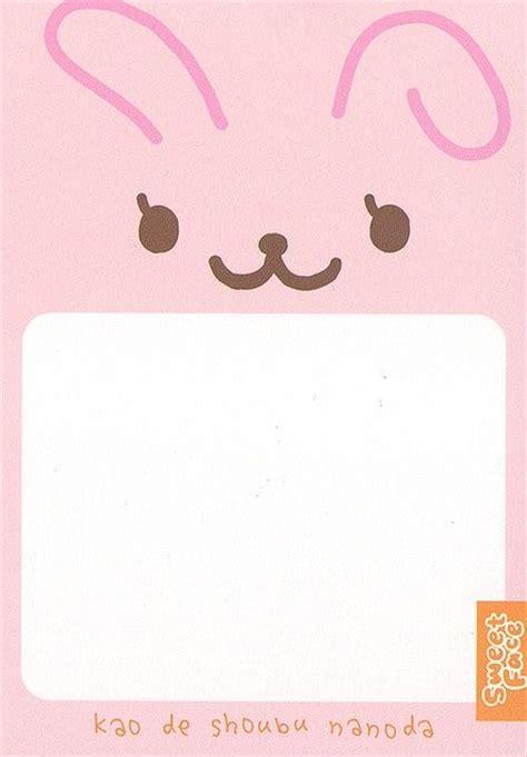kawaii letter paper sweet face memo pads pinterest