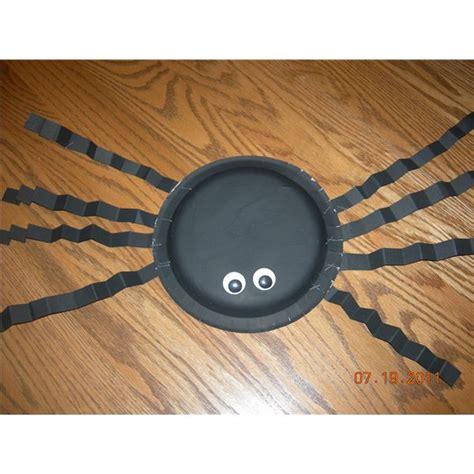 paper plate spider craft five preschool spider craft ideas
