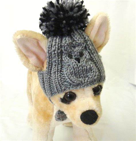 knitted hats for dogs pet clothes apparel crochet knit owl hat for