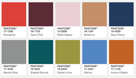 color trends 2017 pantone s fall 2017 color trends bead world