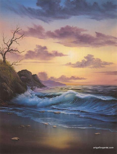bob ross seascape paintings bob ross paintings bob ross gallery bob ross artwork