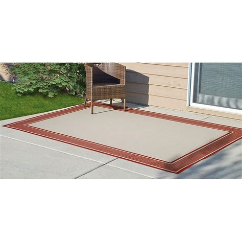 6x9 outdoor rug 6x9 cayenne outdoor rug 212449 outdoor rugs at