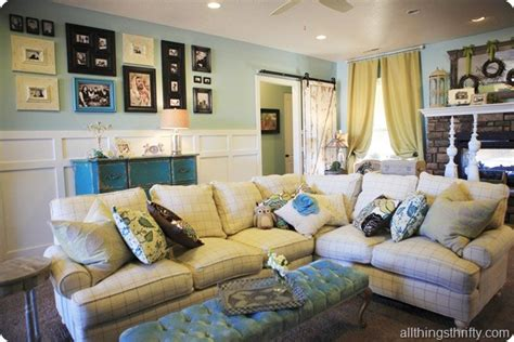 modern cottage makeover family room 45 amazing diy projects