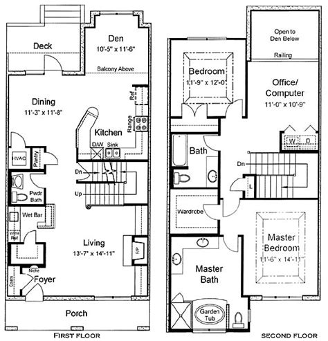 2 story house floor plans house plans 2 story home deco plans