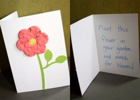 how do you make greeting cards bloomin handmade greeting cards you can plant make and