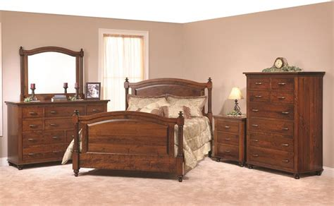 cherry bedroom furniture set american made cherry bedroom furniture