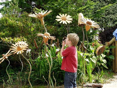 flower garden ornaments beautify your garden with wooden garden ornaments