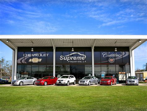 Supreme Chevrolet Cadillac Of Plaquemine by Supreme Chevrolet Of Plaquemine New Used Chevrolet