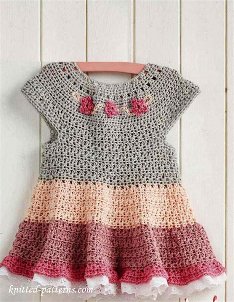 free knitted dress patterns for toddlers free crochet dress pattern ƭɽღ https www