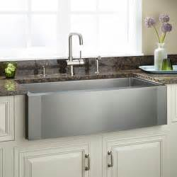 kitchen farmhouse sink 27 quot optimum stainless steel farmhouse sink curved front