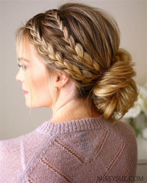 braided hair with braided updo sue