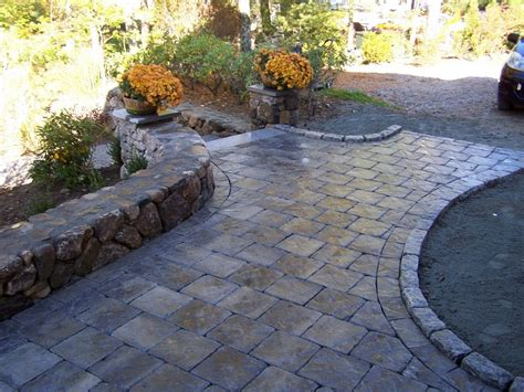 designs for patio pavers triyae backyard design ideas with pavers various