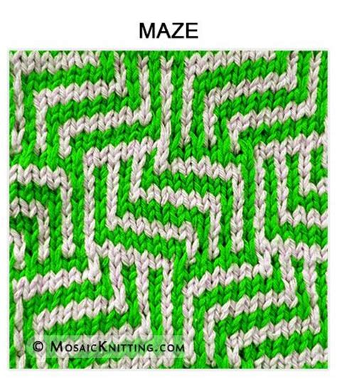 how to knit pdf 17 best images about mosaic knitting on free