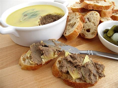 chicken liver pate stick a fork in me i m dunne