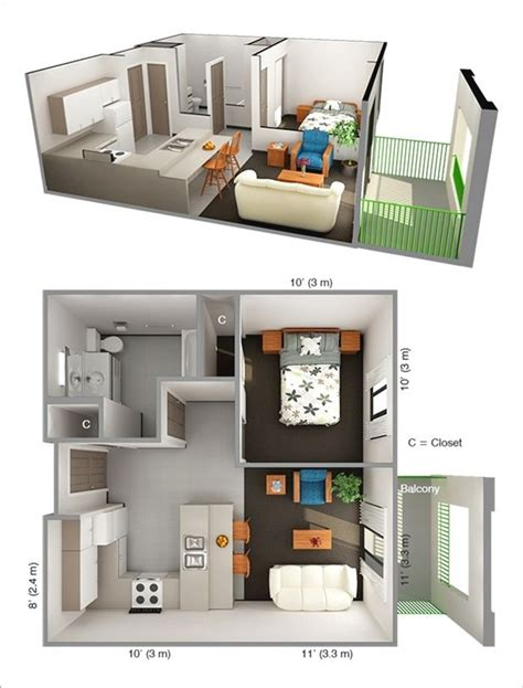 1 bedroom apartment design ideas best 25 one bedroom apartments ideas on one