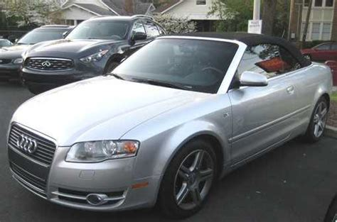 2008 Audi A4 Convertible by 2008 Audi A4 Cabriolet 2 0t Convertible Audi A4