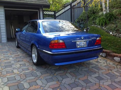 1999 Bmw 750il by Estoril Blue 1999 Bmw 750il German Cars For Sale