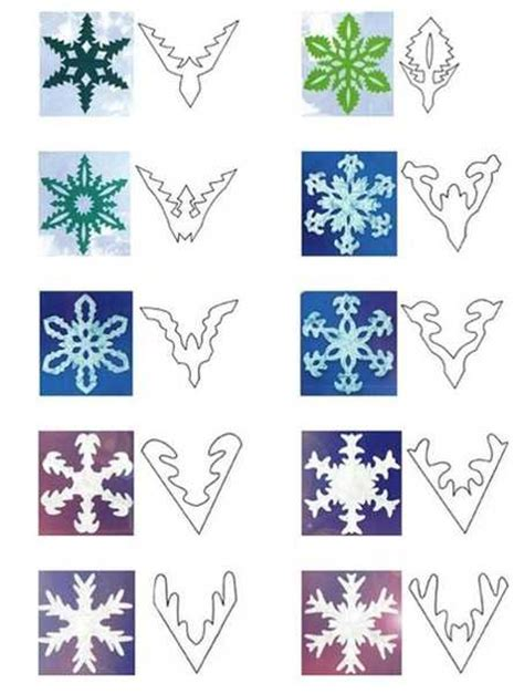 snowflake paper crafts 40 paper snowflake garlands for decorating