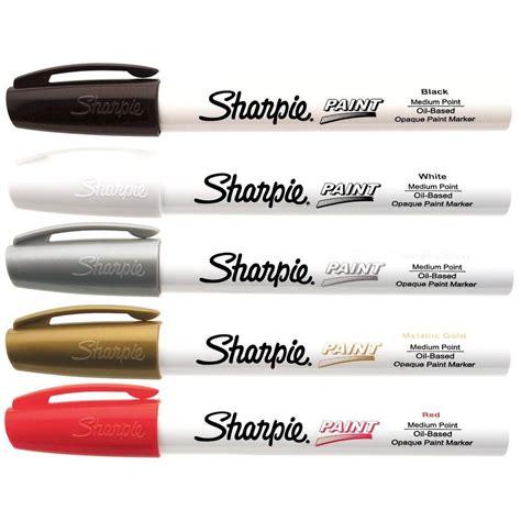 home depot paint pen sharpie basic colors medium point based paint marker