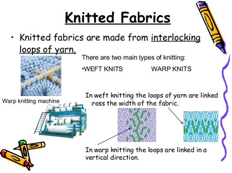 types of warp knitting knitted fabrics difference between woven and knitted